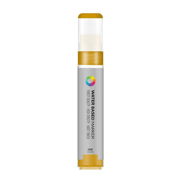MTN Water Based Marker Square 15mm - Frame Gold | Spray Planet