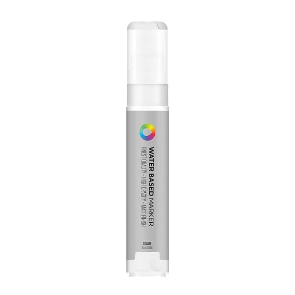 MTN Water Based Marker Square 15mm - Jewel Silver | Spray Planet
