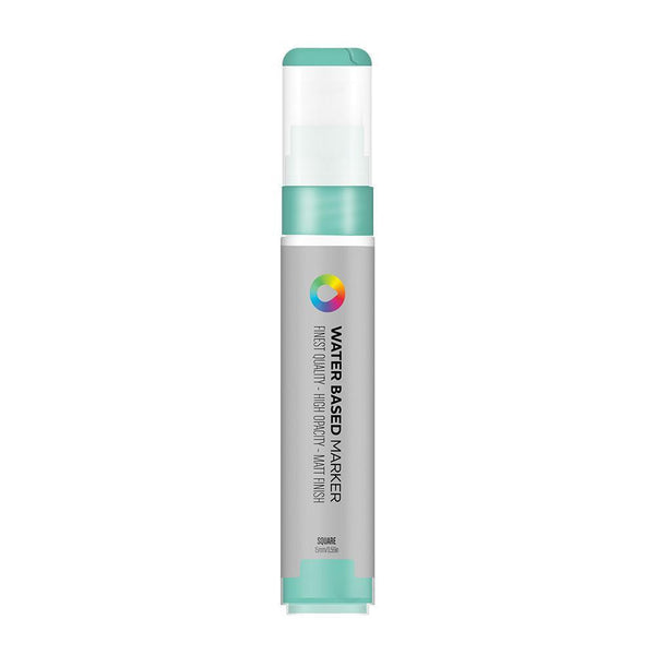 MTN Water Based Marker Square 15mm - Turquoise Green | Spray Planet