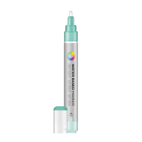 MTN Water Based Marker 3mm - Turquoise Green | Spray Planet