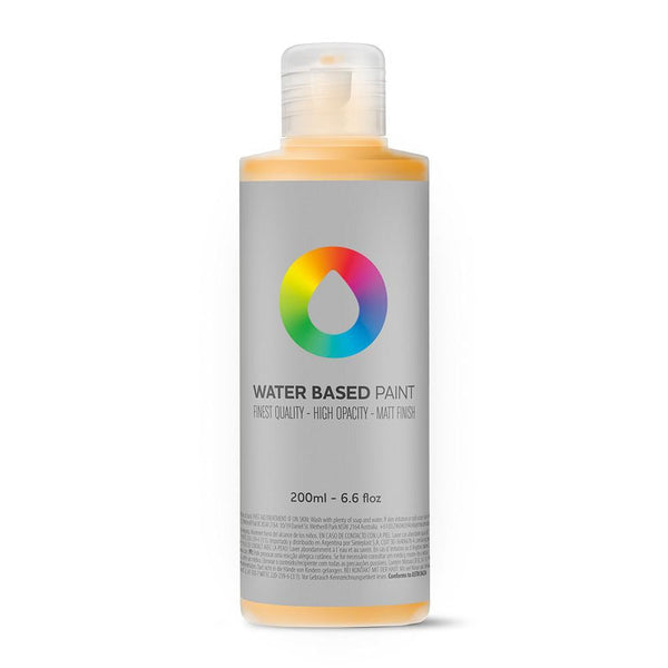 MTN Water Based Paint Refill 200ml - Azo Orange Light | Spray Planet