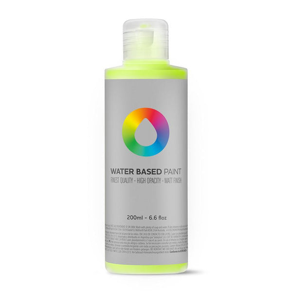 MTN Water Based Paint Refill 200ml - Brilliant Yellow Green | Spray Planet