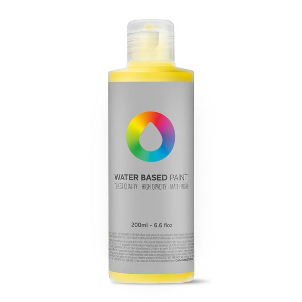 MTN Water Based Paint Refill 200ml - Cadmium Yellow Medium | Spray Planet