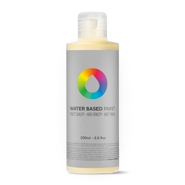 Montana Colors MTN Water Based Paint Refill - 200ml - RV135 Naples Yellow