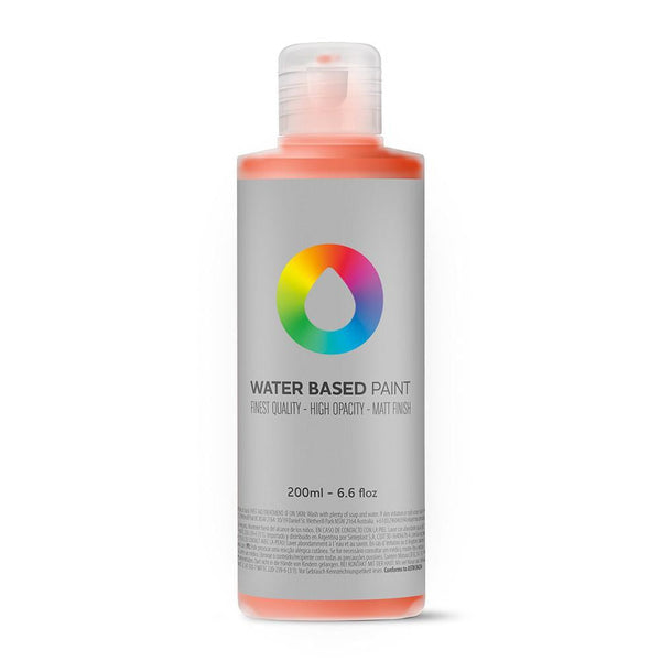 MTN Water Based Paint Refill 200ml - Naphthol Red | Spray Planet