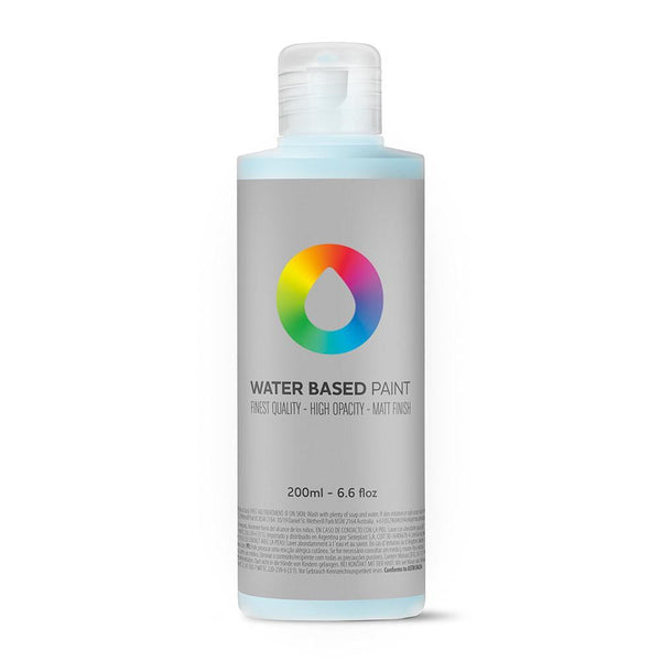 MTN Water Based Paint Refill 200ml - Phthalo Blue Light | Spray Planet