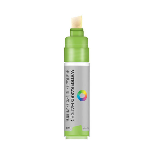 Montana Colors MTN Water Based 8m Paint Marker - Chisel Tip - Brilliant Light Green