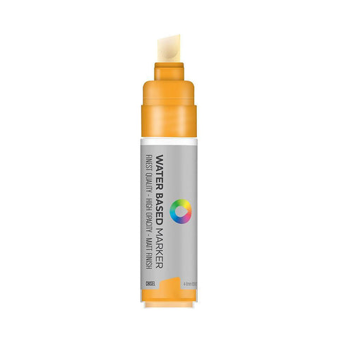MTN Water Based 8m Paint Marker - Chisel Tip - Azo Orange Light