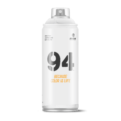 MTN 94 Spray Paint - <strong>White</strong> (9RV-9010)