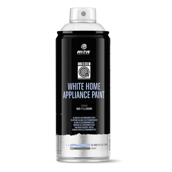 MTN PRO White Appliance Paint - White | Spray Planet
