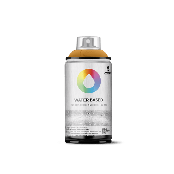 MTN Water Based 300 Spray Paint - Yellow Ochre | Spray Planet