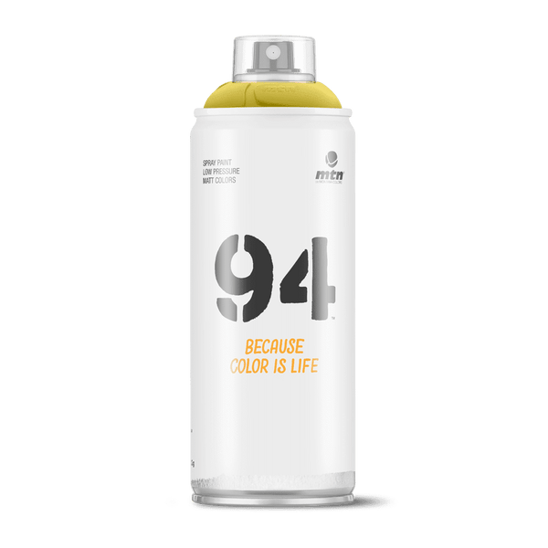 MTN 94 Spray Paint - Yosemite Yellow | Spray Planet