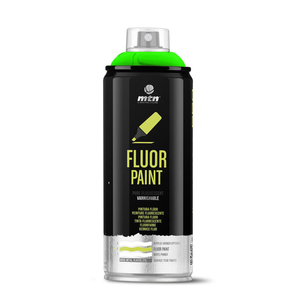 MTN PRO Fluor Paint - Fluorescent Green | Spray Planet