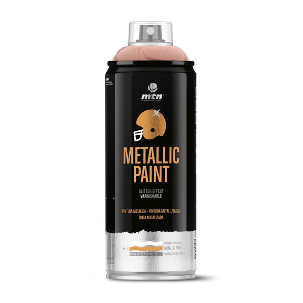 MTN PRO Metallic Spray Paint - Metallic Pink Gold | Spray Planet