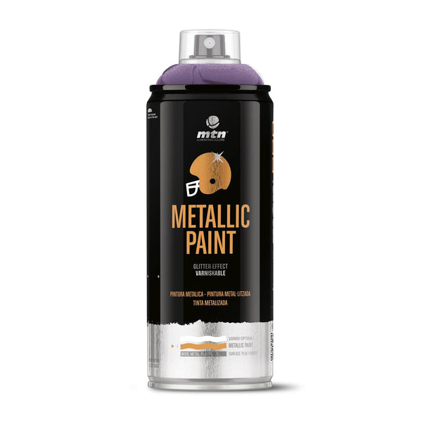 MTN PRO Metallic Spray Paint - Metallic Violet | Spray Planet