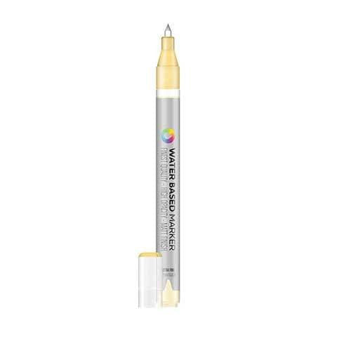 Montana Colors MTN Water Based Marker - 1mm - RV135 Naples Yellow