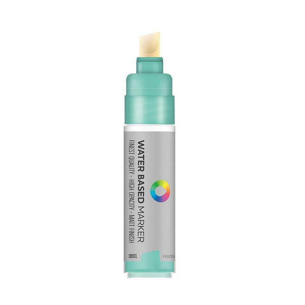 MTN Water Based Chisel Marker 8mm - Turquoise Green | Spray Planet