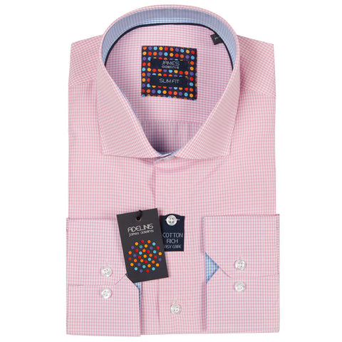 Mayson Pink Gingham Check