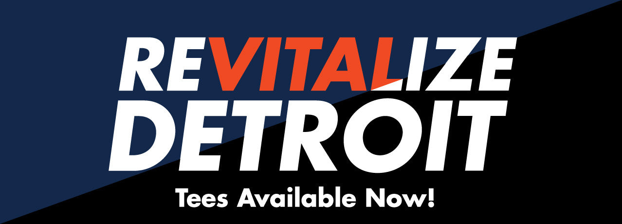 Revitalize Detroit Tees