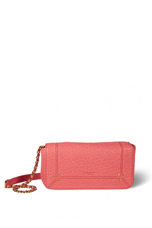 Jerome Dreyfuss Bob Handbag / Clutch in Rose