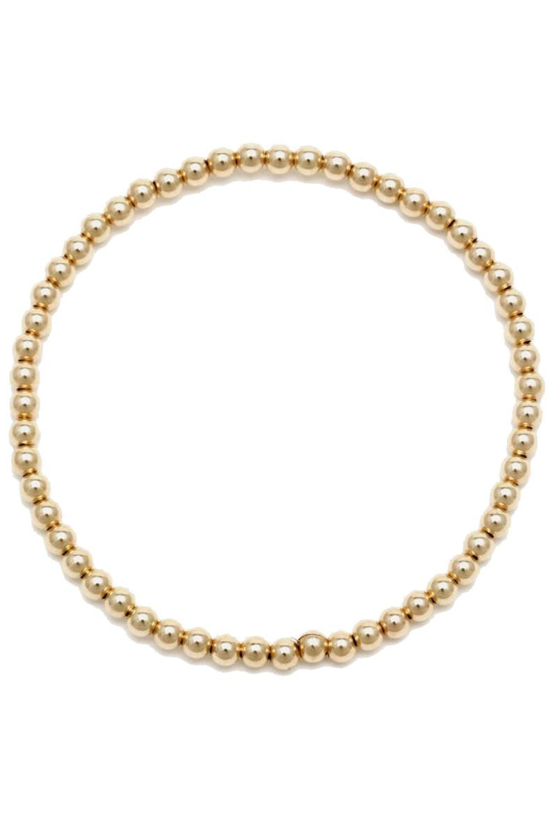 Alexa Leigh 3mm Gold Ball Bracelet