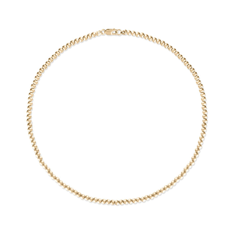 Alexa Leigh 3mm Gold Ball Necklace