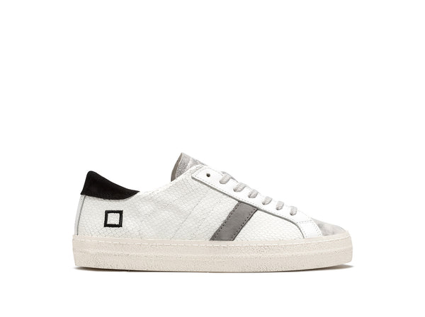 D.A.T.E. Hill Low Roof Sneaker in White