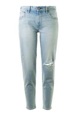 Moussy Vintage Vivian Skinny Denim in Light Blue