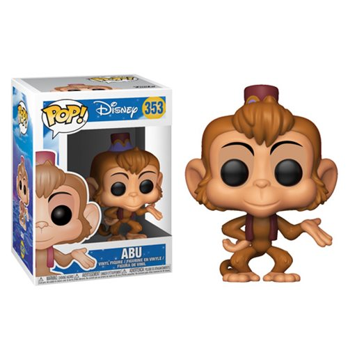 POP! Disney Aladdin: Abu Vinyl Figure