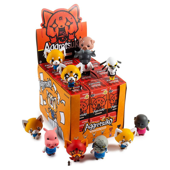 Aggretsuko Blind Box Mini Series Case of 24