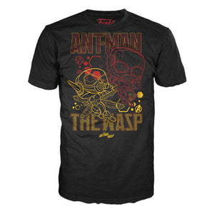 POP! Tees - Marvel: Ant-Man and Wasp Team