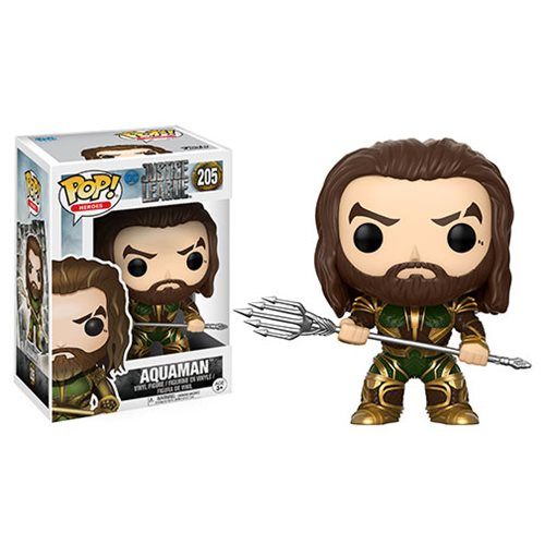 POP! Justice League: Aquaman Vinyl Figure