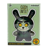 "Cash Wolf 5"" Dunny Vinyl Art Figure - OG Money Green Edition"