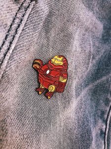 Chunky Iron Man Enamel Pin