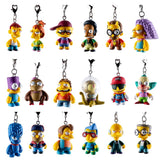 The Simpsons CRAP-TACULAR Keychain Series Case of 24