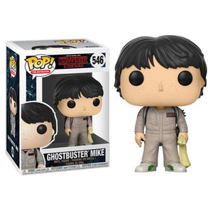 POP! Stranger Things: Ghostbuster Mike Vinyl Figure