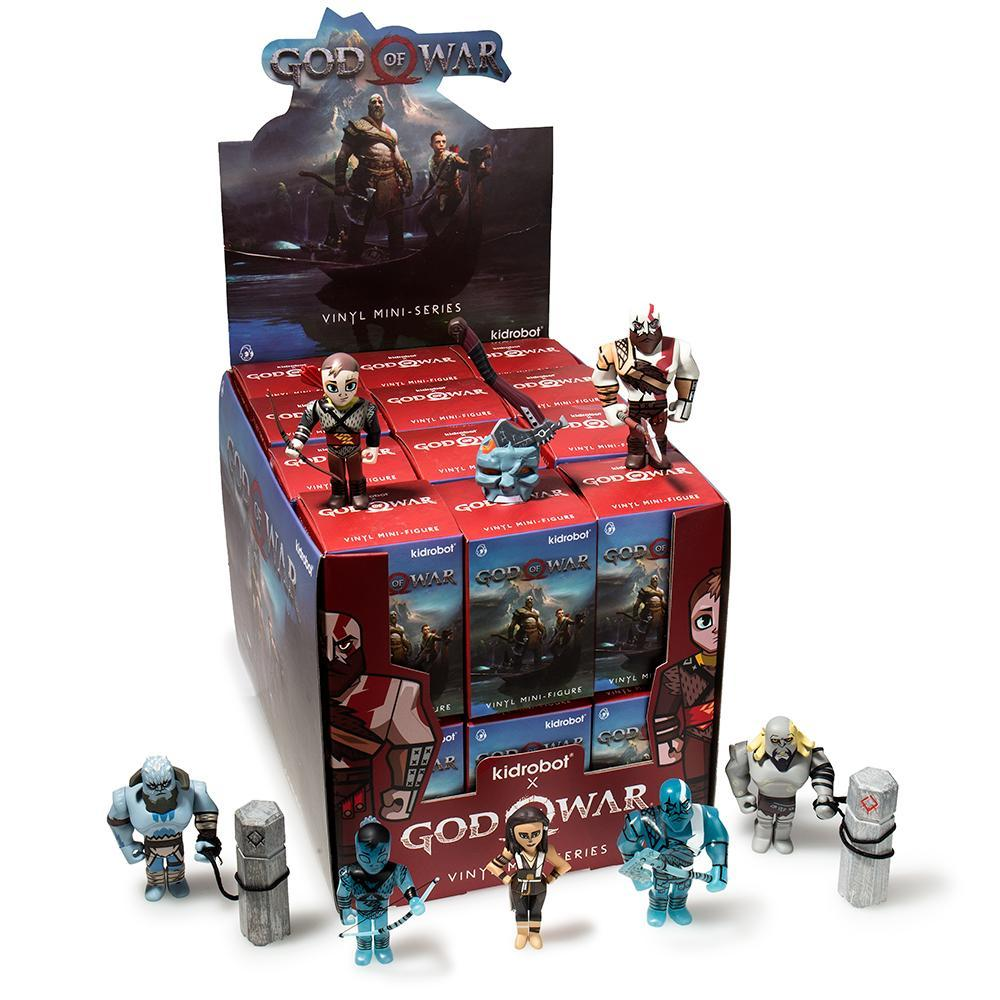 God of War Blind Box Mini Series Case of 24