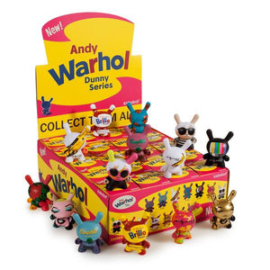 "Andy Warhol 3"" Dunny Blind Box Mini Series"