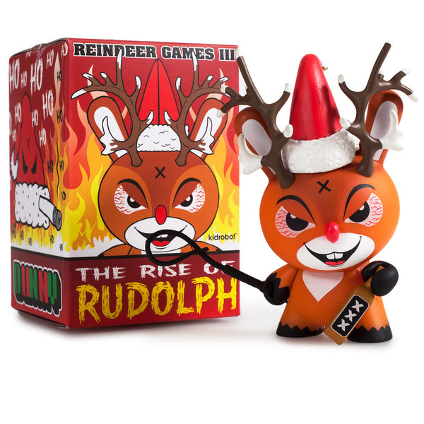 "Rise of Rudolph 3"" Dunny Vinyl Figure"