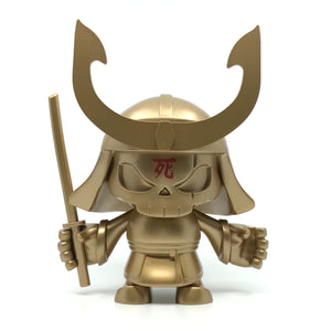 "Skullhead Samurai 9"" Vinyl Collectible - Gold Legend Edition"