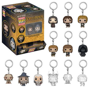 Pop! Mystery Pocket Keychain: Lord of the Rings Case of 12