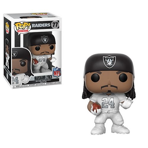 POP! NFL Football - Oakland Raiders: Marshawn Lynch #77