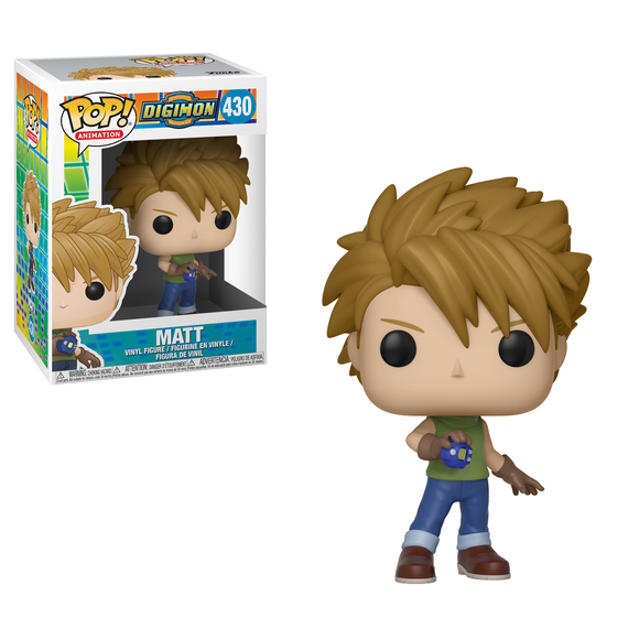 POP! Anime - Digimon: Matt #430 (PRE-ORDER)