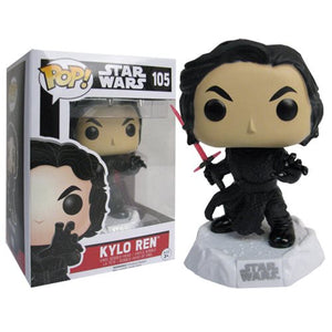 POP! The Force Awakens: Kylo Ren Unmasked Vinyl Figure