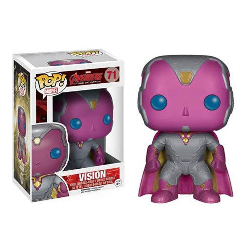 POP! Marvel (Age of Ultron): Vision Bobble Head Vinyl Figure