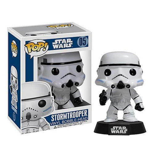 POP! Star Wars: Stormtrooper Bobble Head Vinyl Figure