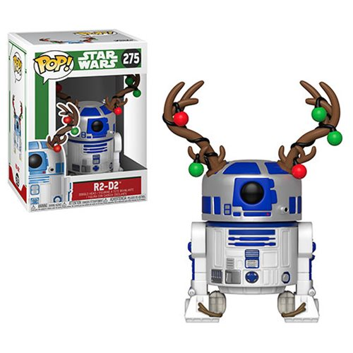 POP! Star Wars - Holiday: R2-D2 with Antlers #275