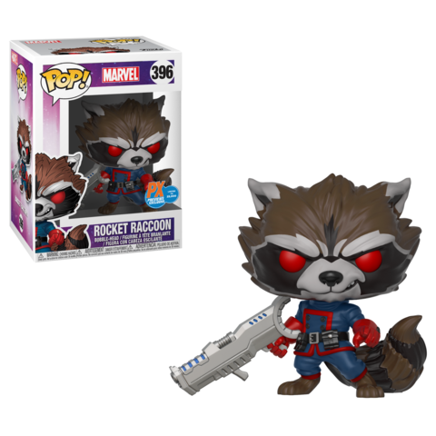POP! Marvel - Guardians of the Galaxy: PX Exclusive Rocket Raccoon #396
