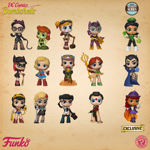 Specialty Series DC Bombshells Mystery Minis Case of 12