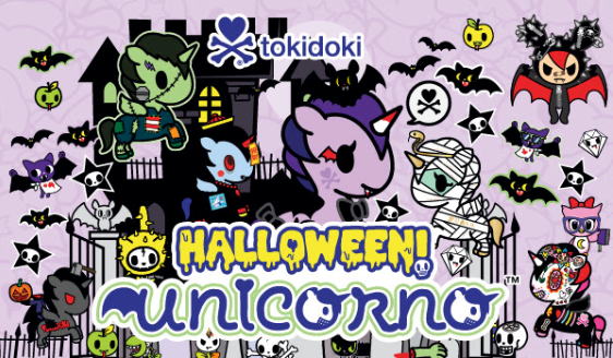 Halloween Unicorno Blind Box Mini Series